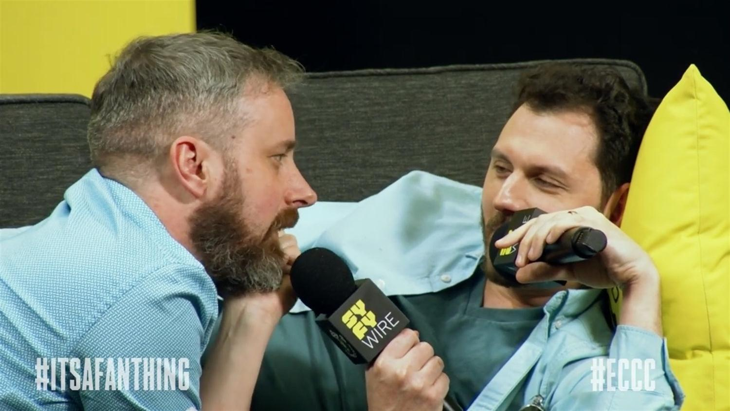 Chip Zdarsky Talks Sex Criminals While Snuggling Onstage (ECCC 2019)