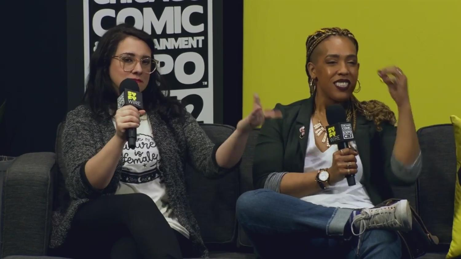 SYFY WIRE Friday Evening Wrap-Up (C2E2 2019)