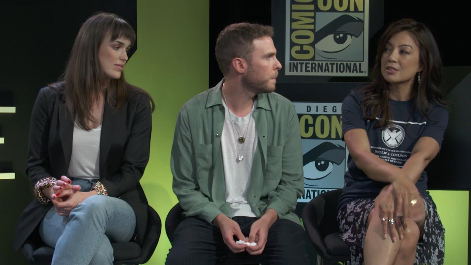 Agents of S.H.I.E.L.D. Cast on Clark Gregg's Return | SYFY WIRE