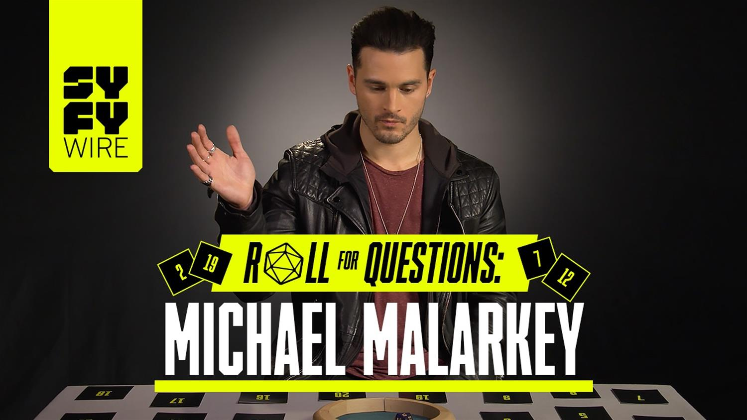 Michael Malarkey Answers If He's A Vampire (Roll For Questions)