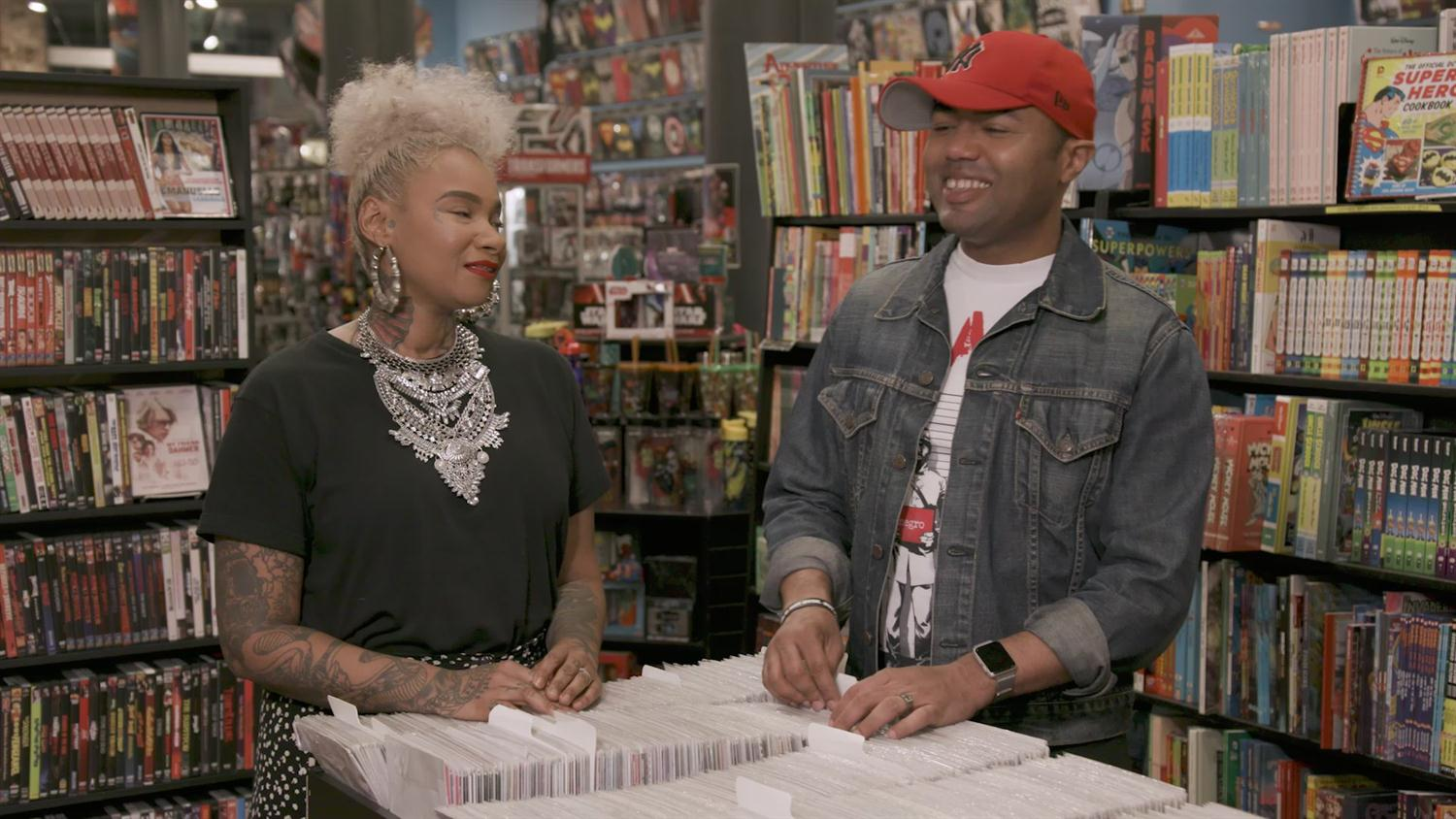 Crossover: Hip-Hop & Comics with Jean Grae and Kwanza Osajyefo