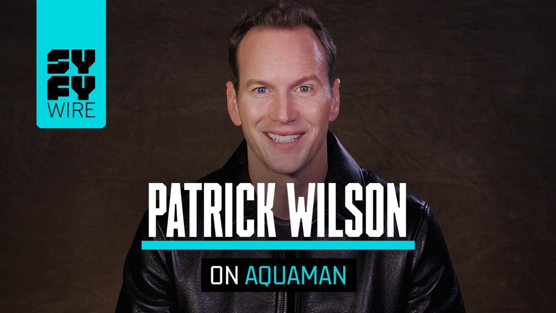 Aquaman's Patrick Wilson Went Straight To The Comics