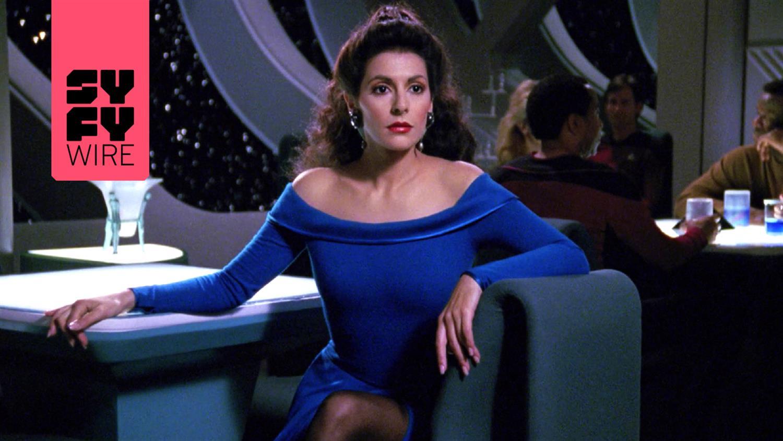 Deanna Troi's Weird Romantic History