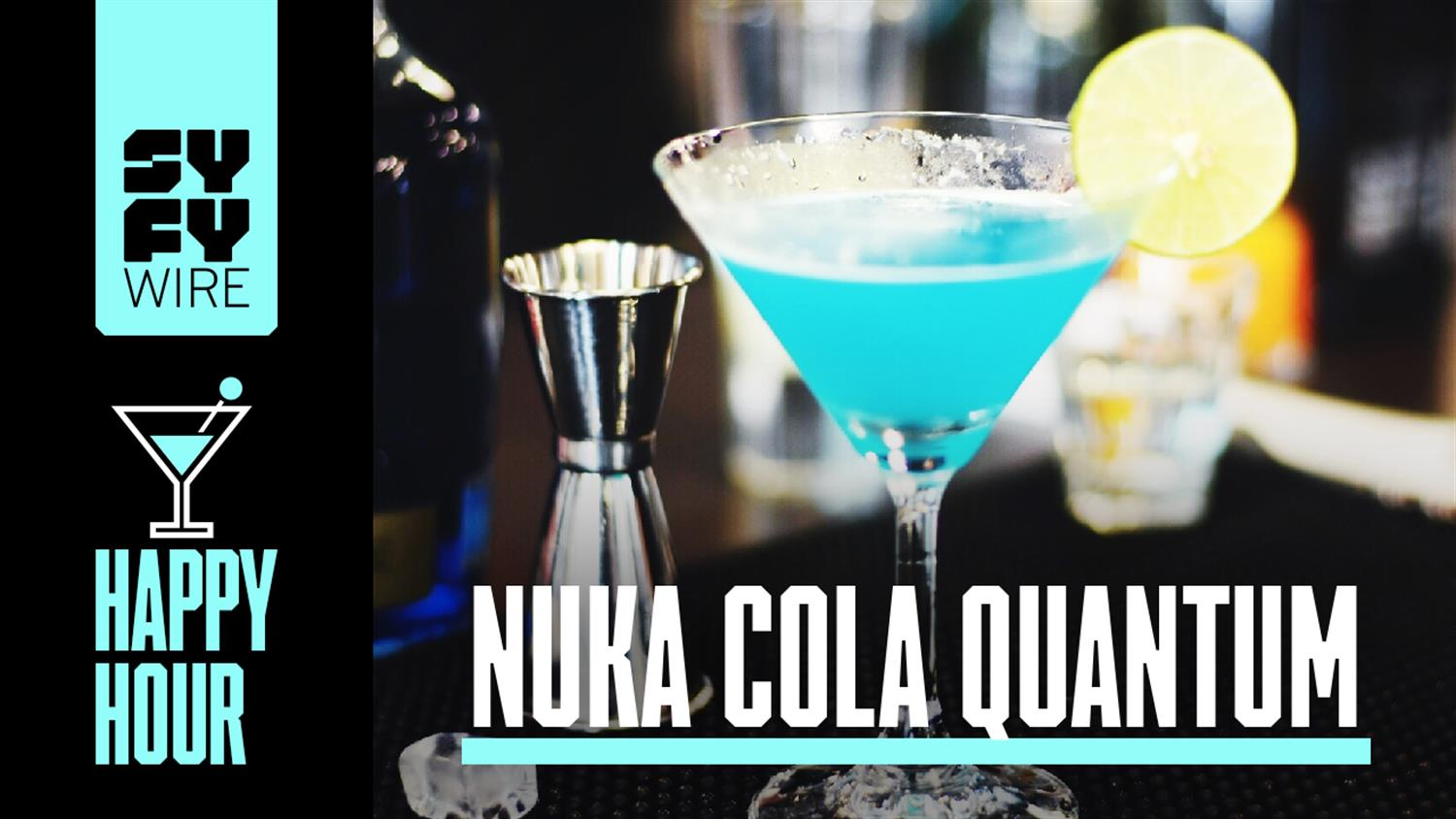 How To Make Nuka Cola Quantum (SYFY WIRE Happy Hour)