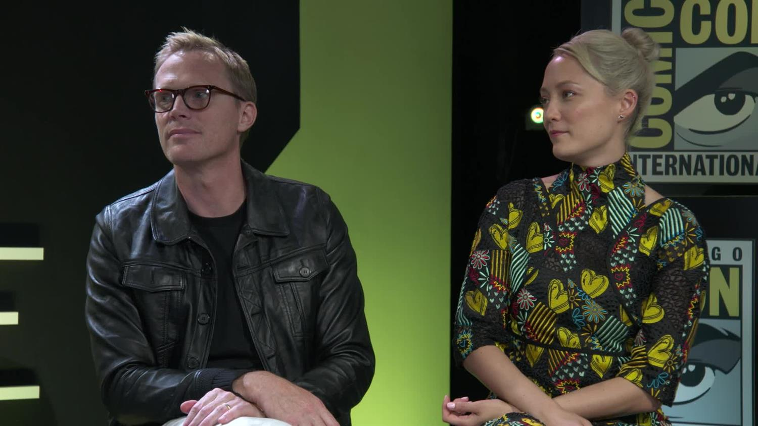 Marvel's Vision (Paul Bettany) & Mantis (Pom Klementieff) on What's Next in the MCU | SYFY WIRE