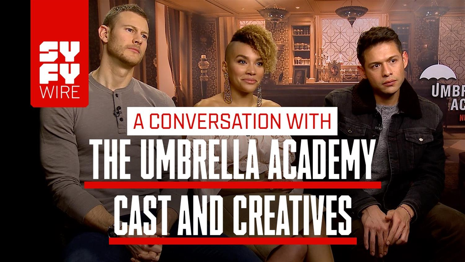 Umbrella Academy Cast On Creating Chips & Honoring Comics