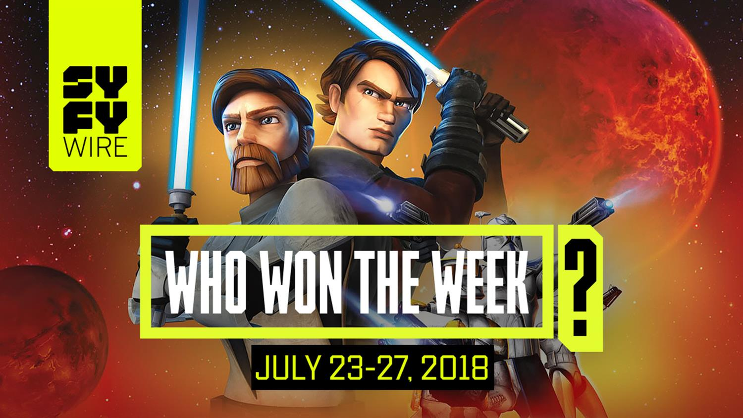 SDCC Aftermath: Who Won The Week For July 23-27