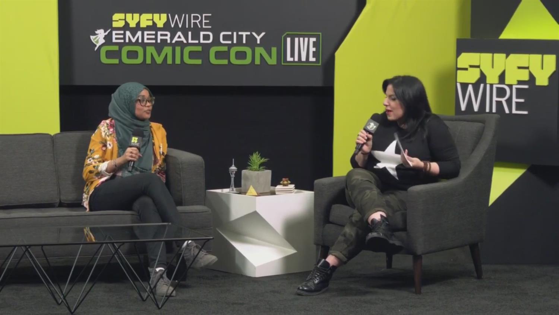YA Author Somaiya Daud's First Con (ECCC 2019)