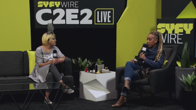Eve Ewing on Marvel's Ironheart (C2E2 2019)