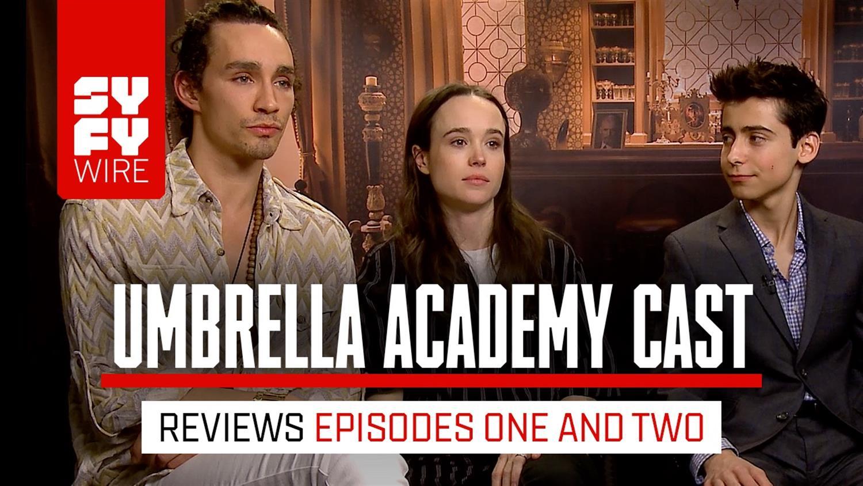 Umbrella Academy Cast React To Episodes 1 & 2
