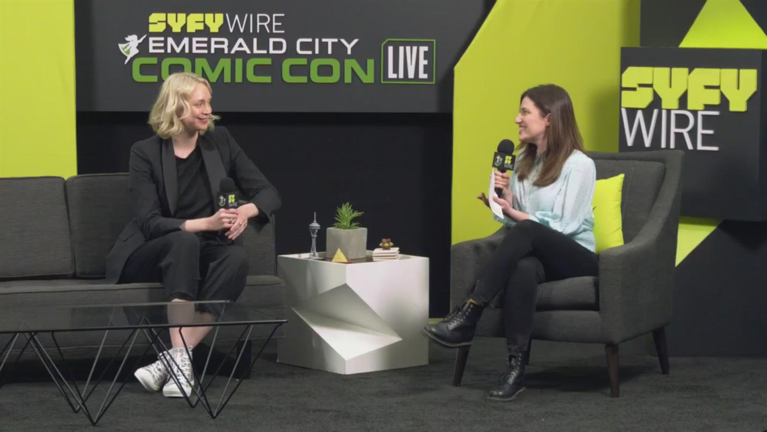 Gwendoline Christie Sobbed for Hours After the Last GoT Shoot (ECCC 2019)