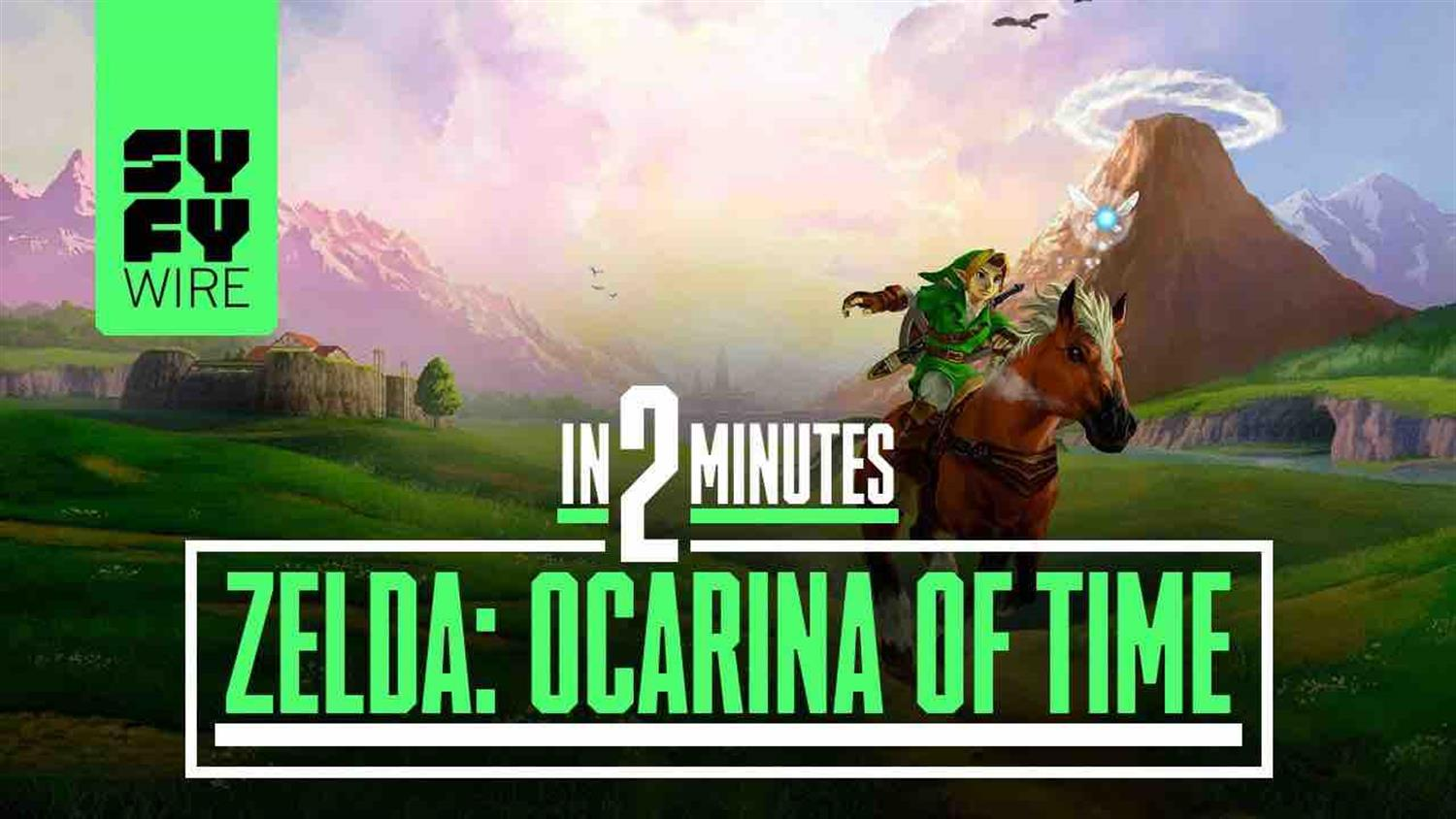 The Legend of Zelda: Ocarina of Time in 2 Minutes