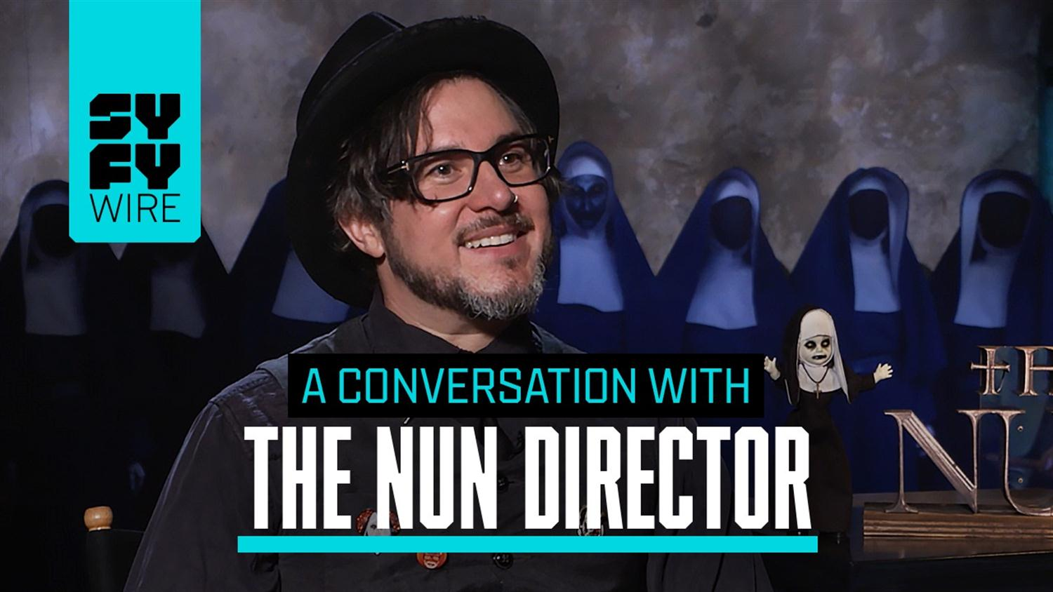 The Nun Director On Conjuring Easter Eggs, Origins And Fighting Demon Nuns