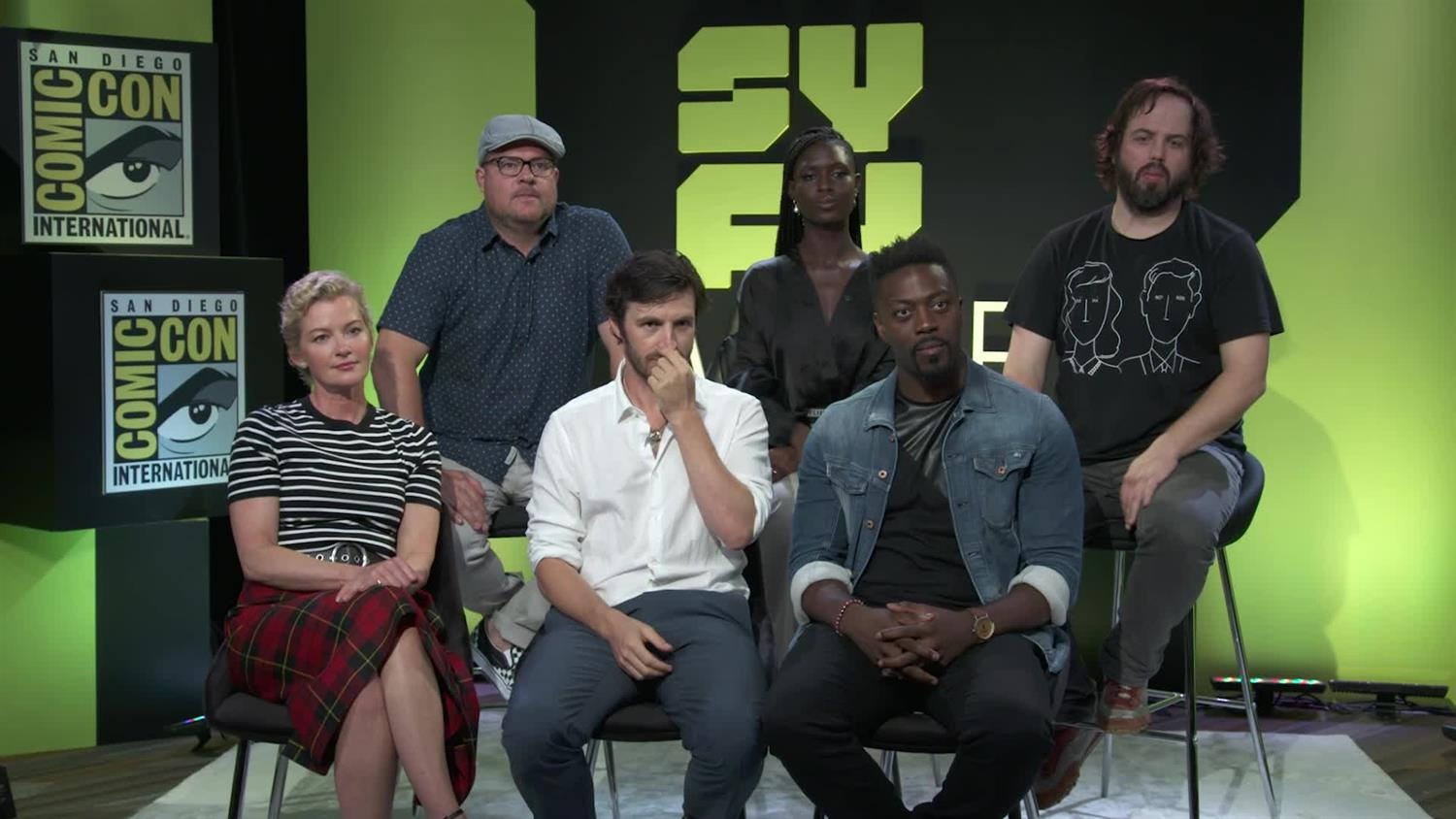 George R. R. Martin's Nightflyers Cast on Mystery, Horror & Death | SYFY WIRE
