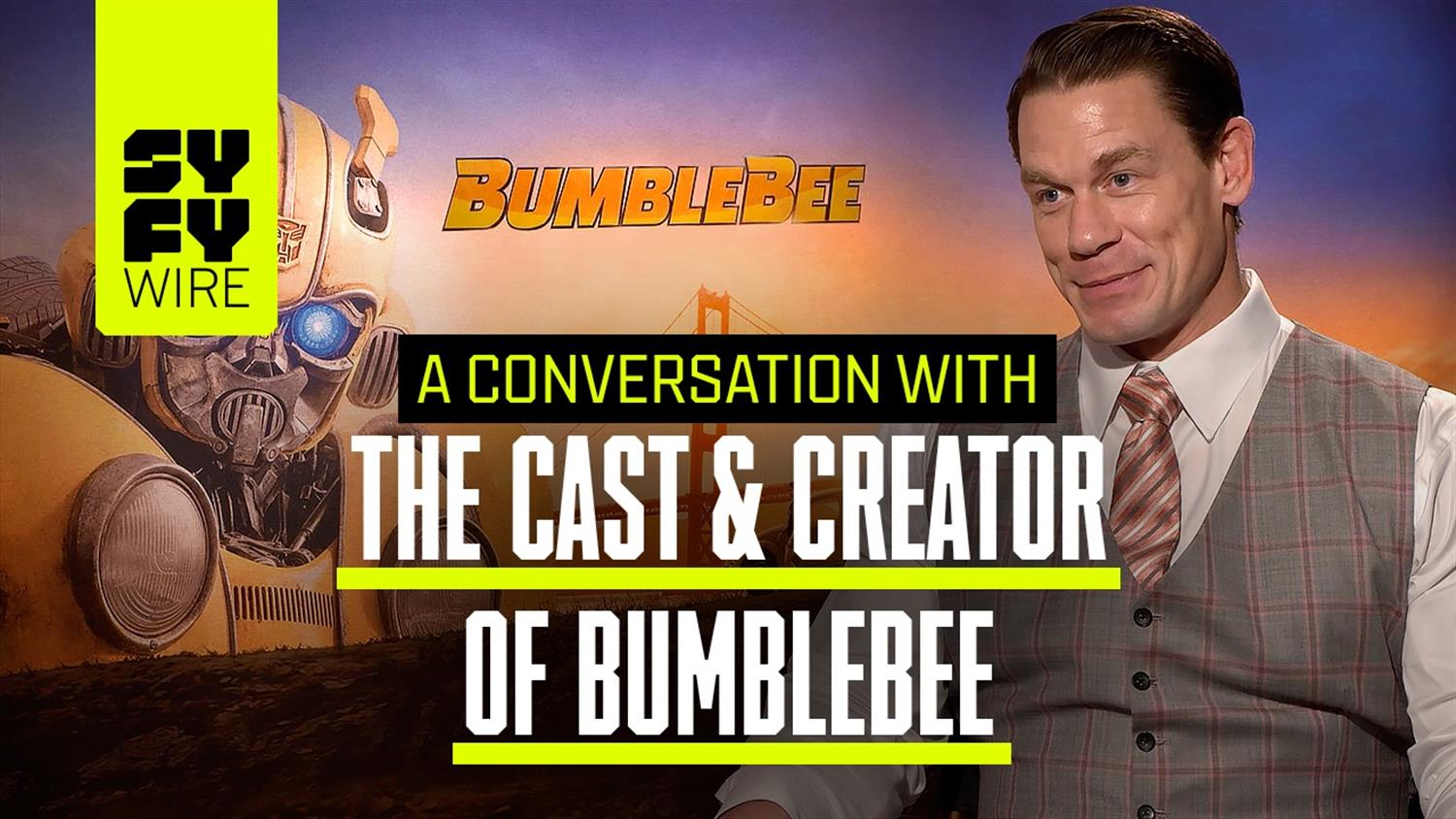 Bumblebee's John Cena, Hailee Steinfeld & More on Production Secrets