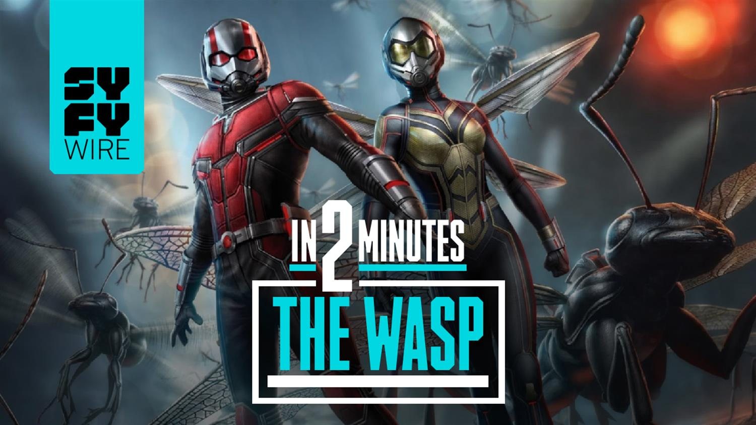 The Wasp In 2 Minutes