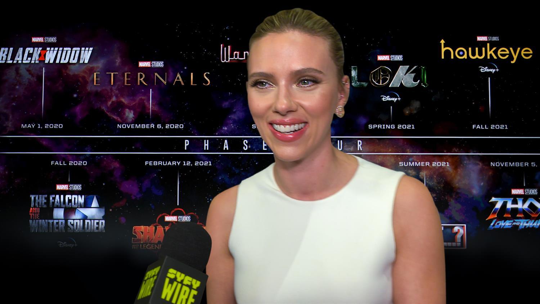 Black Widow Cast Previews Movie – SYFY WIRE: Con After Dark