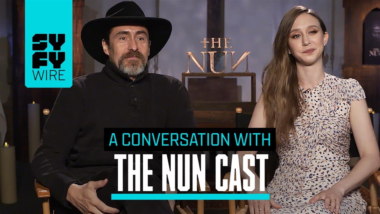 The Nun Cast Explains How To Fight Evil Demon Nuns
