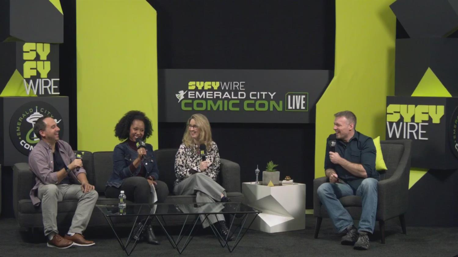 SYFY WIRE Thursday Morning Con Kick-Off (ECCC 2019)