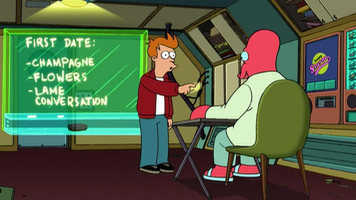 Fry's Dating 101