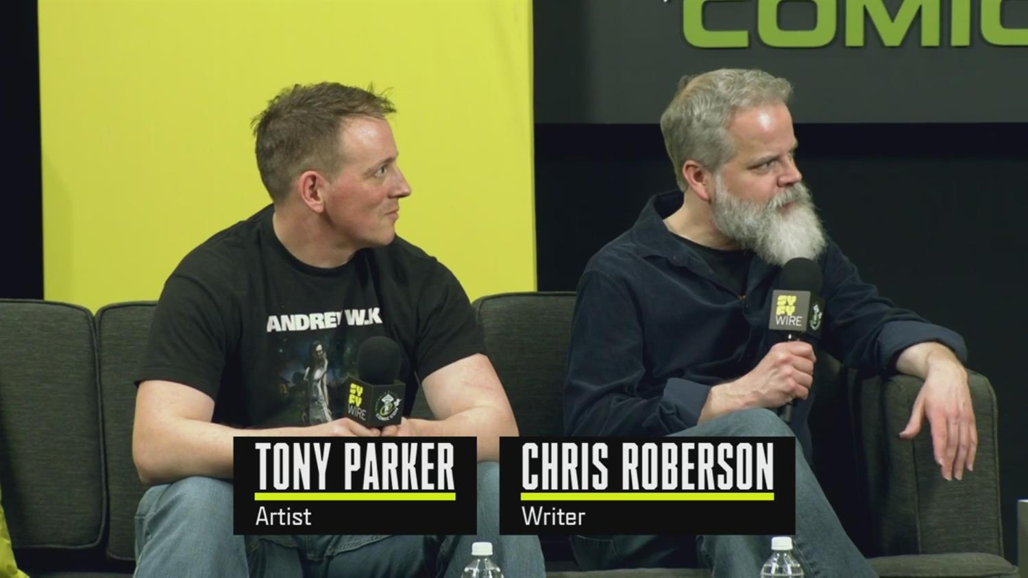 Chris Roberson And Tony Parker On 'God Of War' (ECCC 2019)