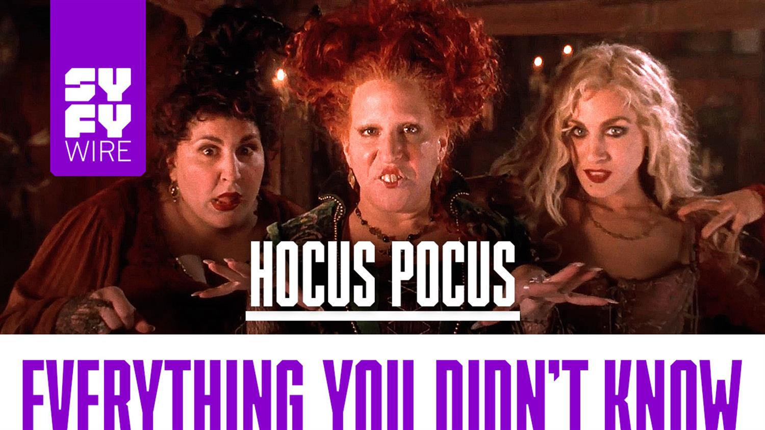 Hocus Pocus: Everything You Didn't Know