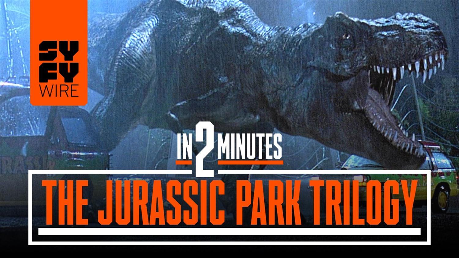 Jurassic Park Parts 1-3 In 2 Minutes