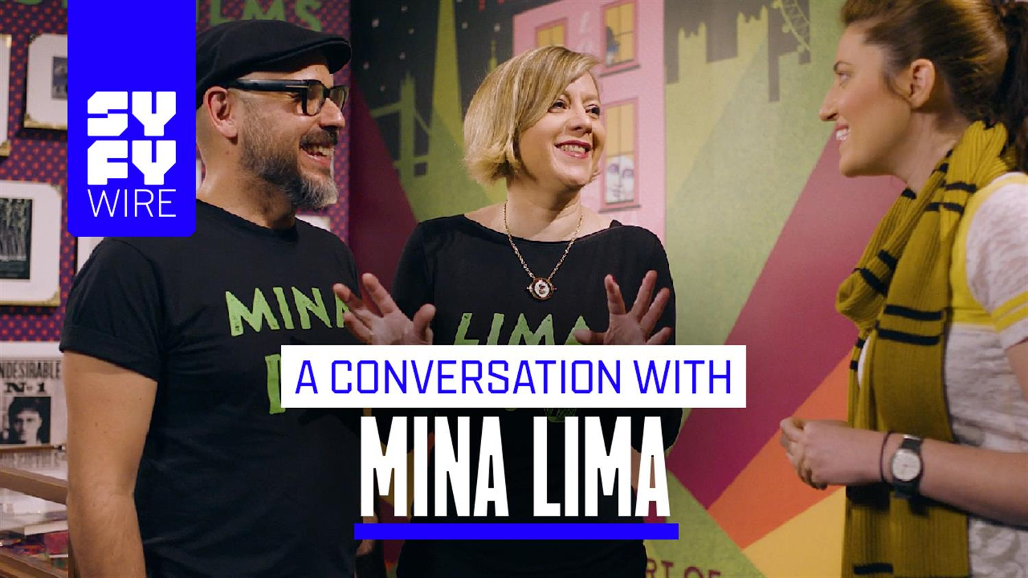 They Design Minds Behind Harry Potter: An Interview with Mina Lima