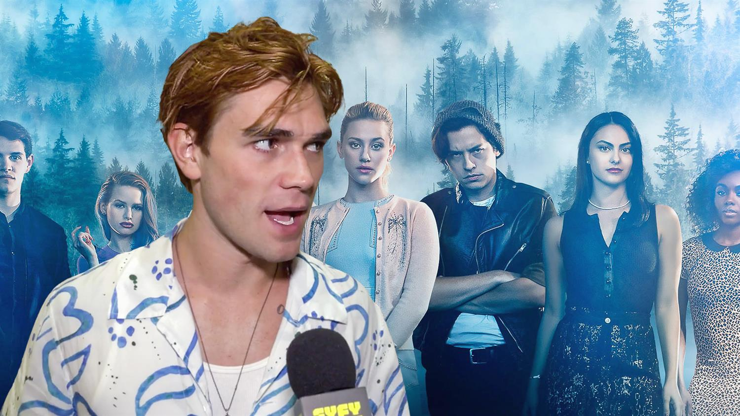 Riverdale Cast Interviews – SYFY WIRE: Con After Dark