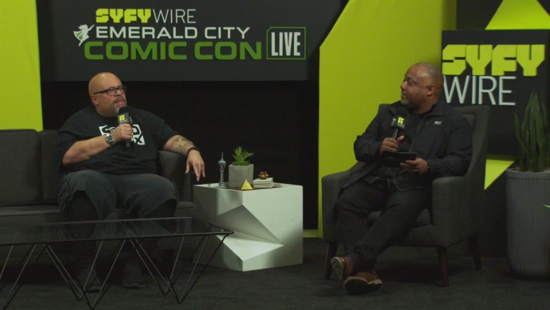 David Walker Talks Naomi & Comics (ECCC 2019)