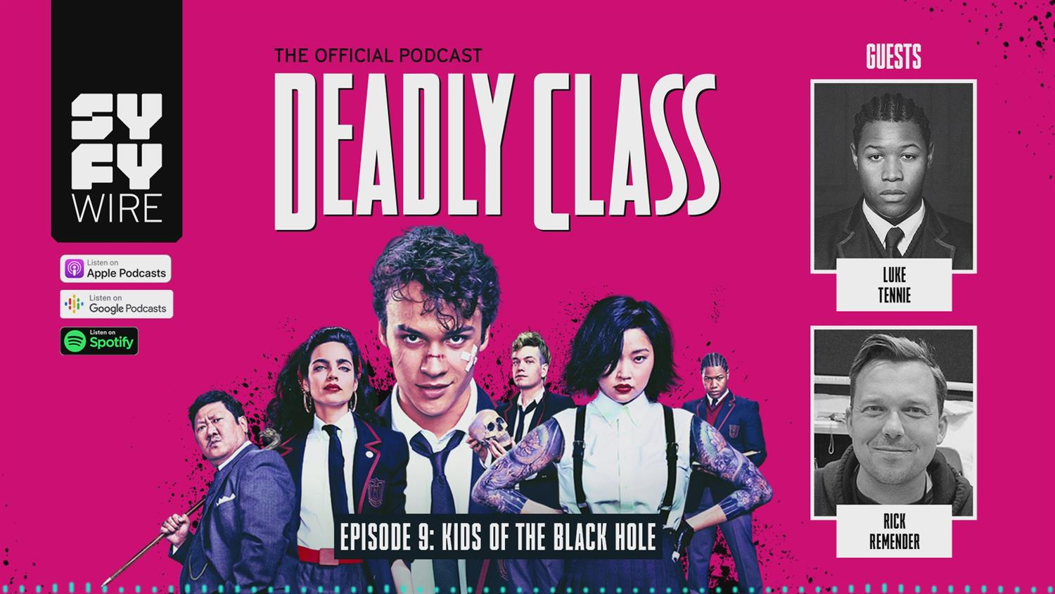 Deadly Class - Official Podcast Episode 9