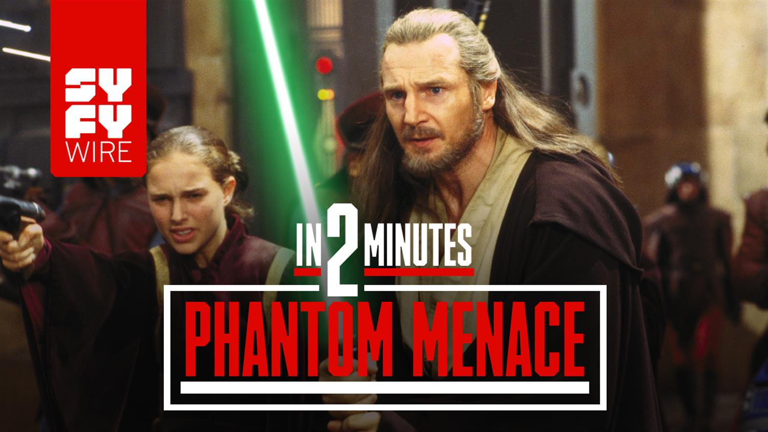 Star Wars: The Phantom Menace In 2 Minutes