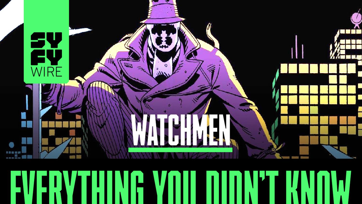 Watchmen (The Graphic Novel): Everything You Didn't Know