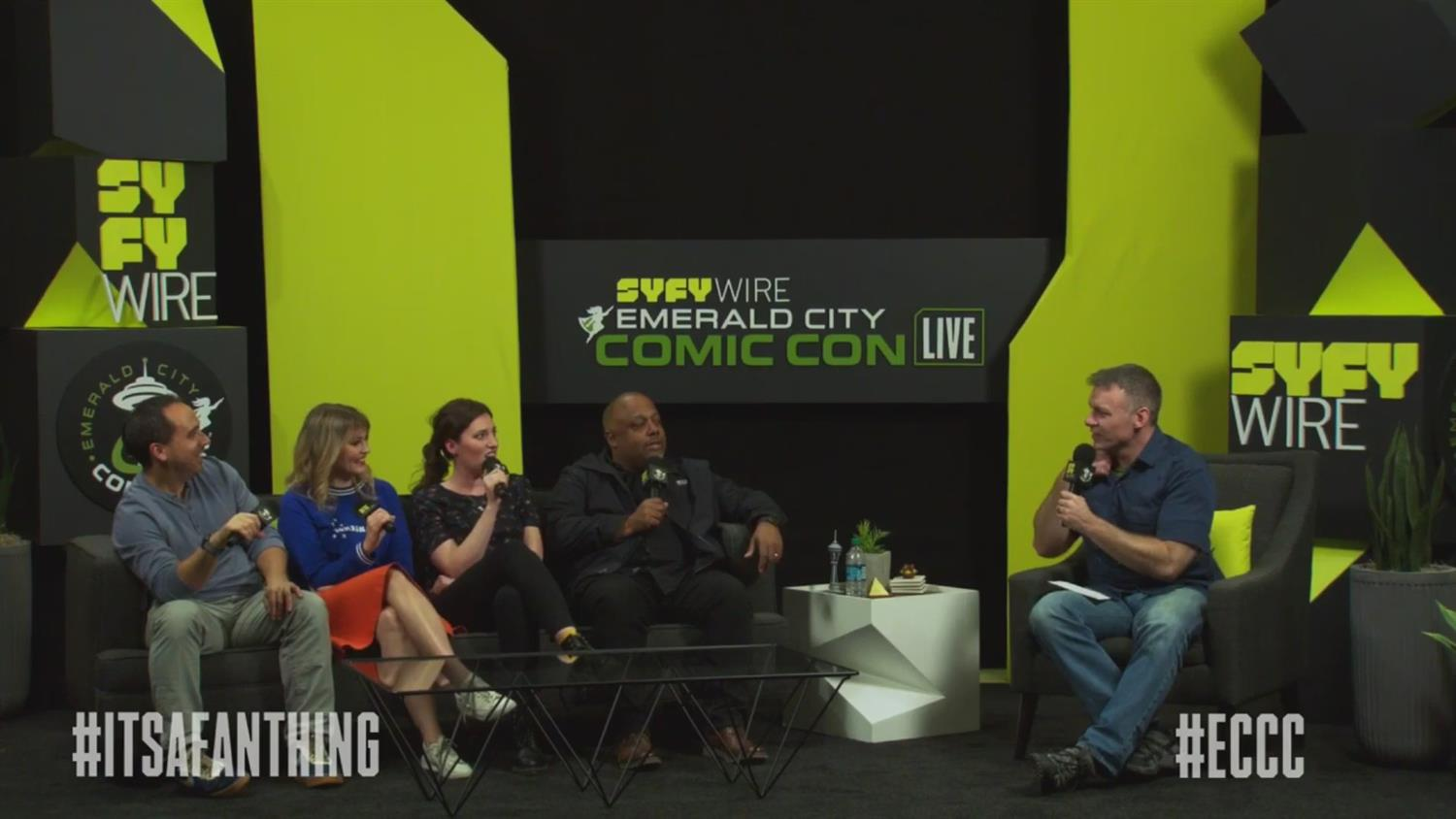 SYFY WIRE Saturday Evening Wrap-Up (ECCC 2019)