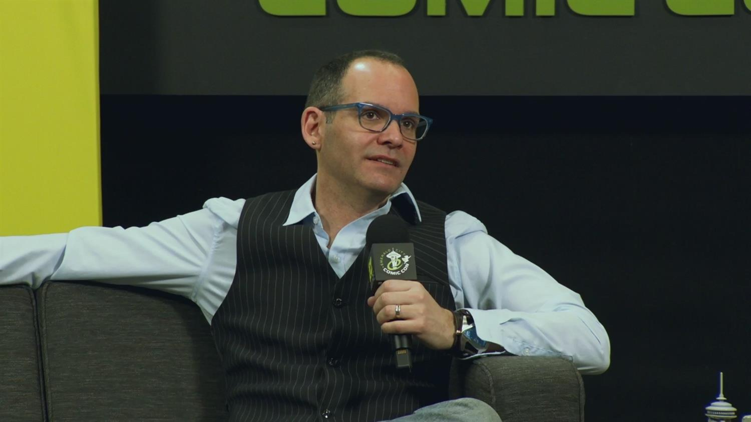 Judd Winick: From Real World To Comics (ECCC 2019)