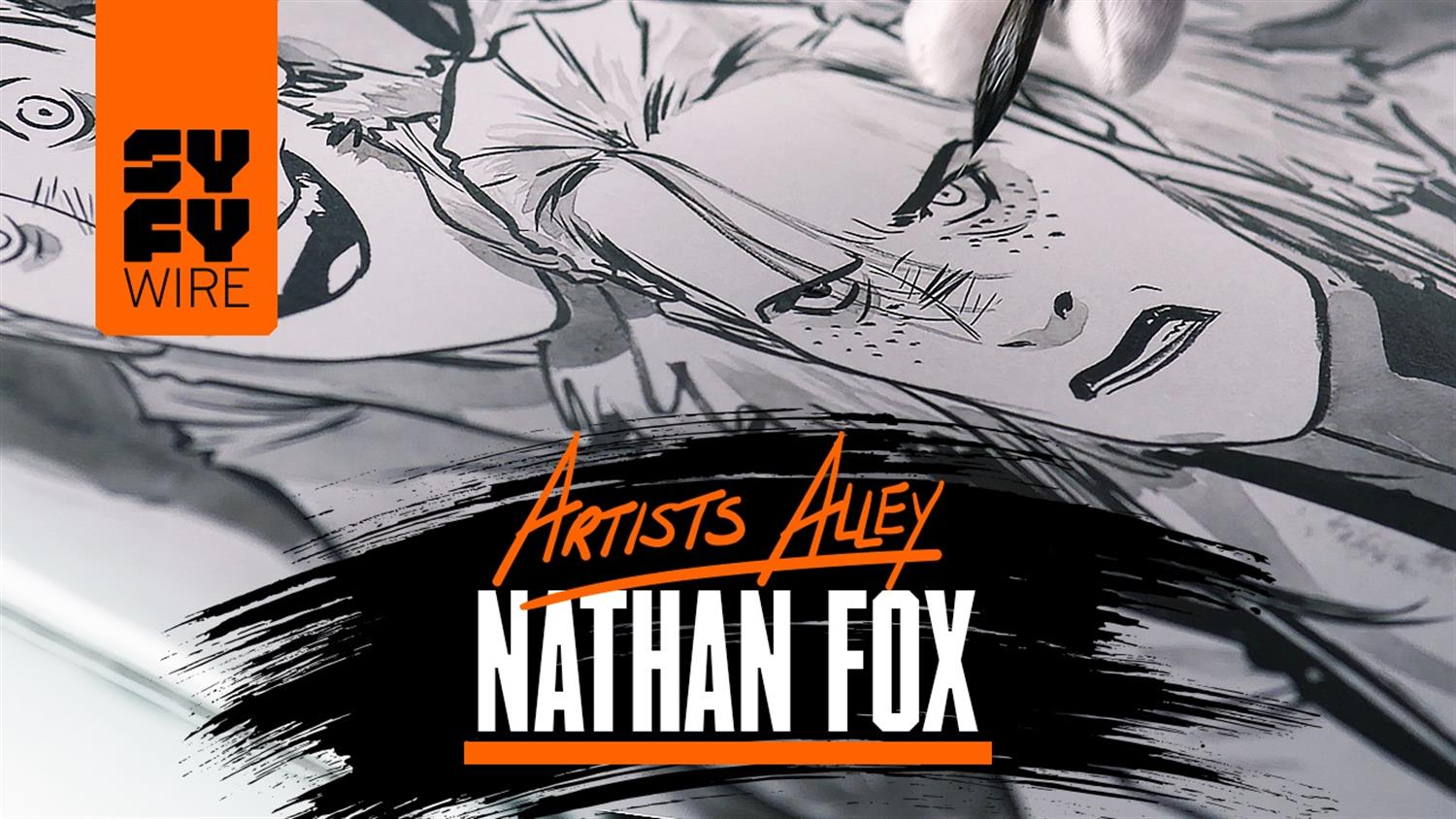 Watch Nathan Fox Sketch The Weatherman Characters