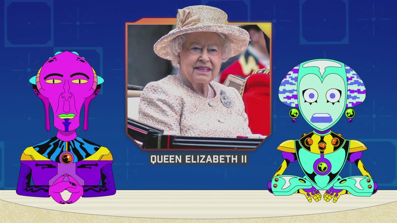 Alien News Desk - The Royal Family