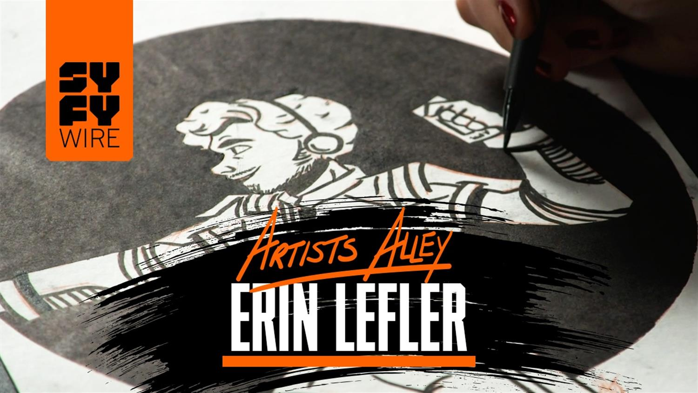 Star Wars Artist Erin Leffler Draws Star Lord