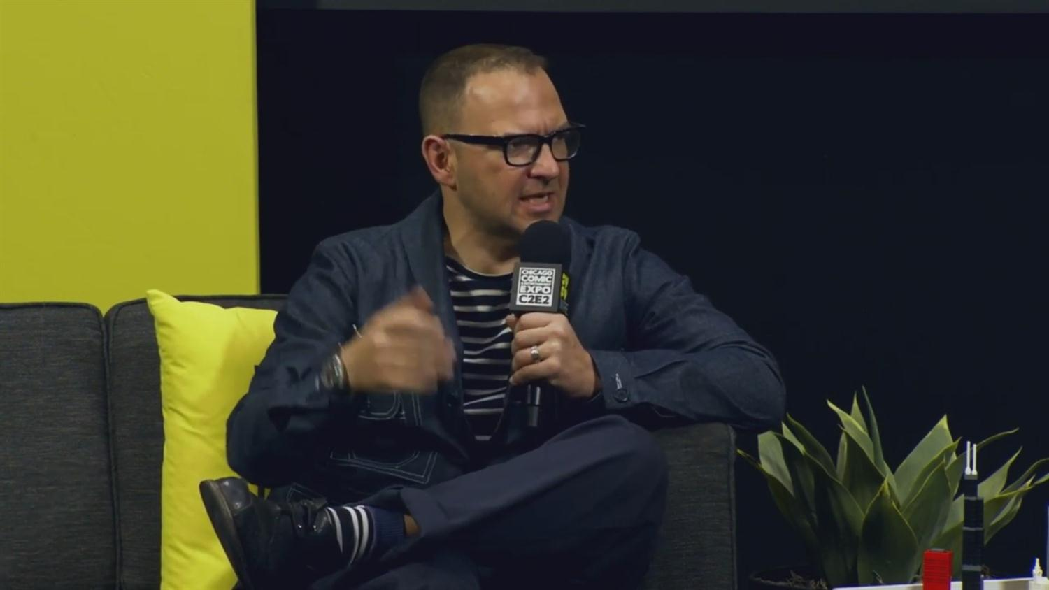 Cory Doctorow Talks Tech and Superman Punching Out Nazis (C2E2 2019)