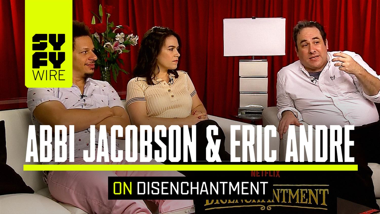 Disenchantment's Abbi Jacobon & Eric Andre on Netflix's New Animated Show