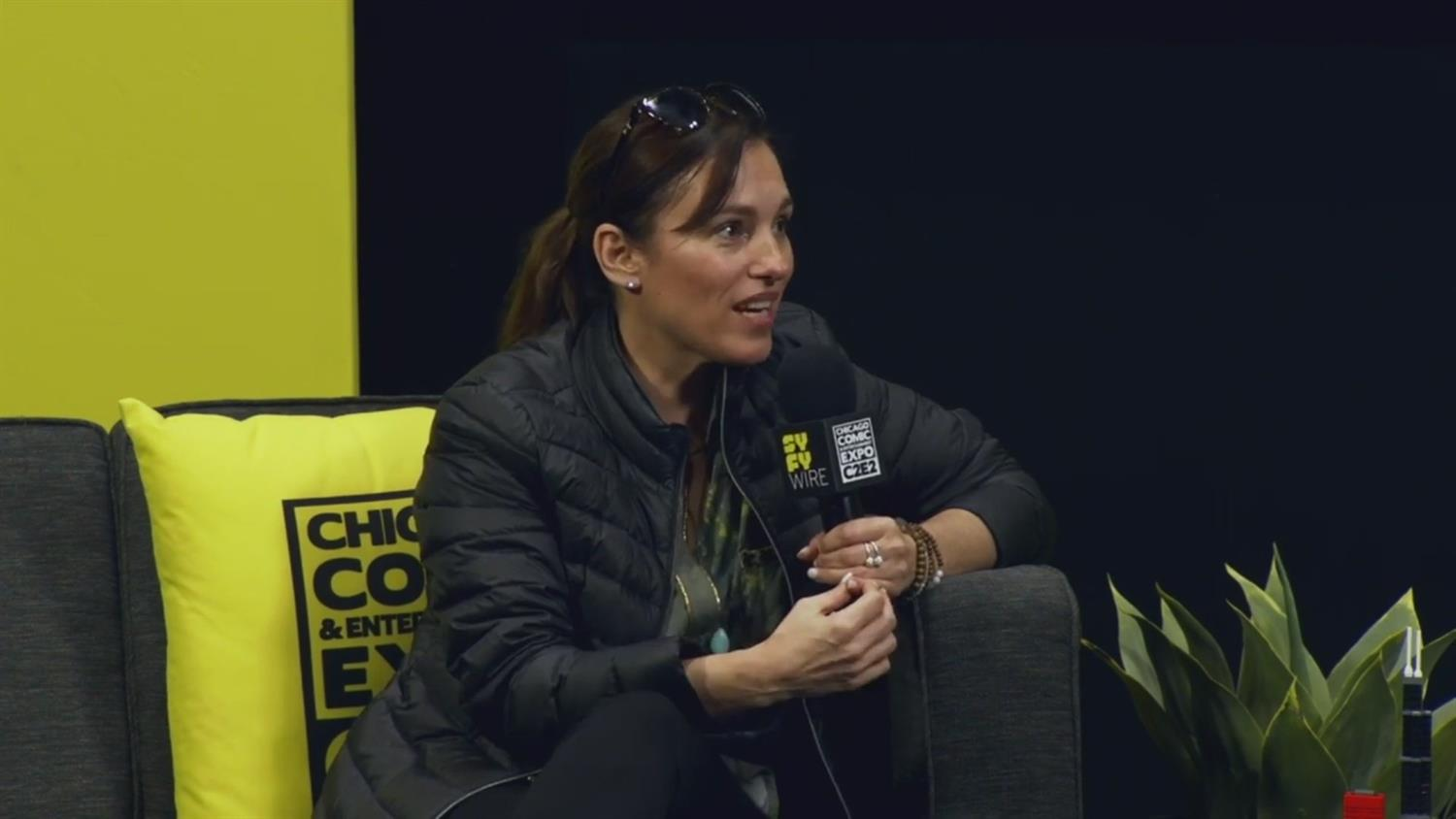 Amy Jo Johnson: From Pink Power Ranger to Director (C2E2 2019)