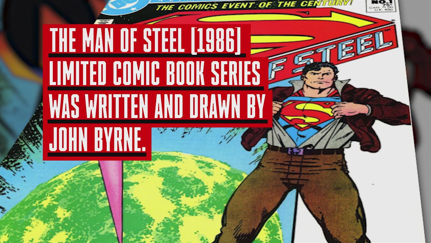 John Byrne on Reinventing Superman, Superman Shaving & His Version of Lois Lane (Behind the Panel)