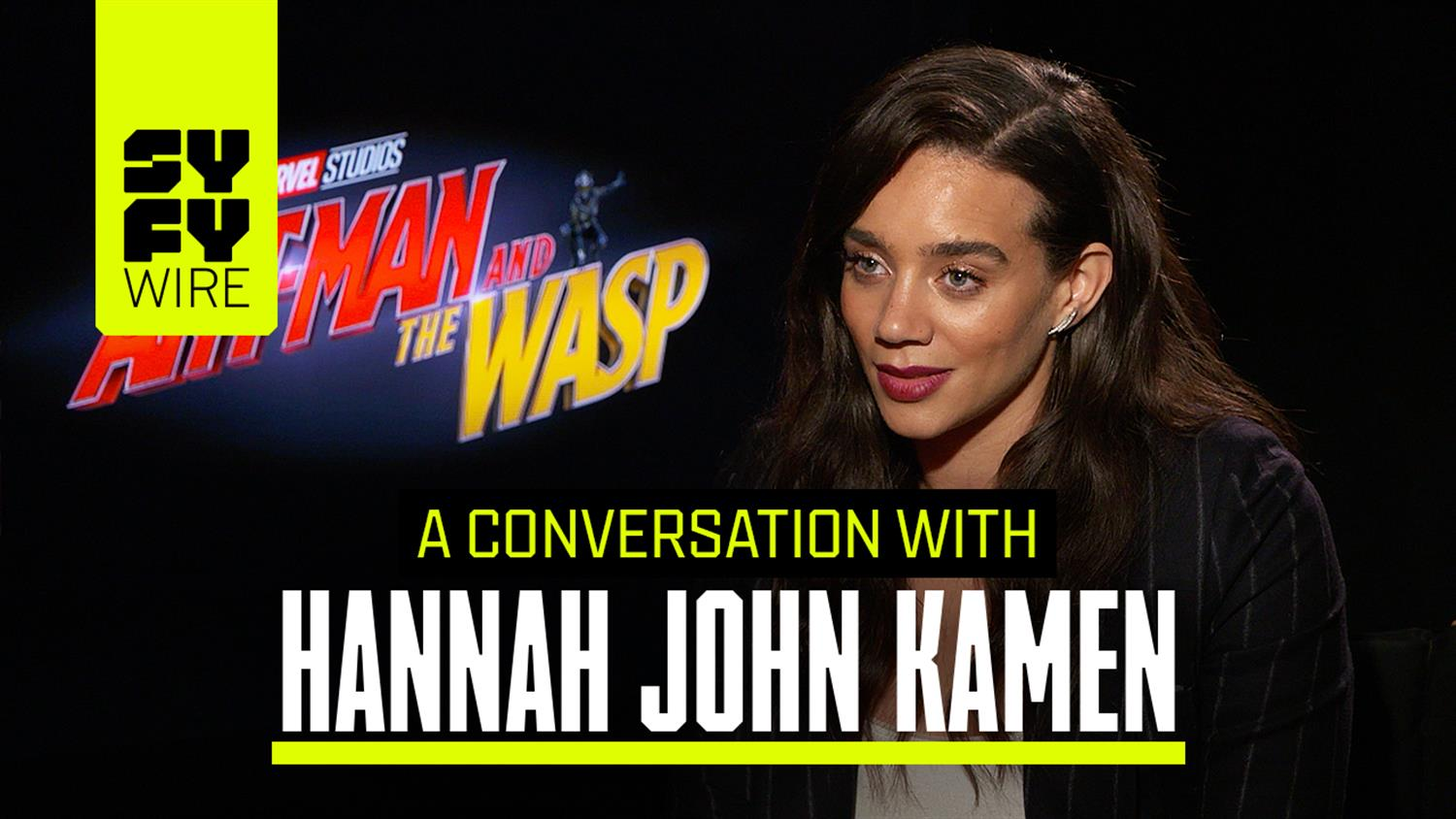 Hannah John-Kamen on Ant-Man and the Wasp: Becoming Ghost