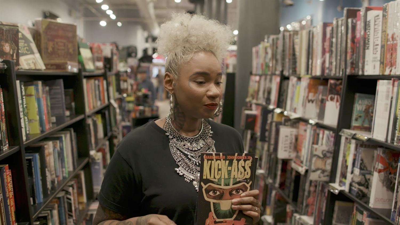Jean Grae Takes Us Comic Book Shopping