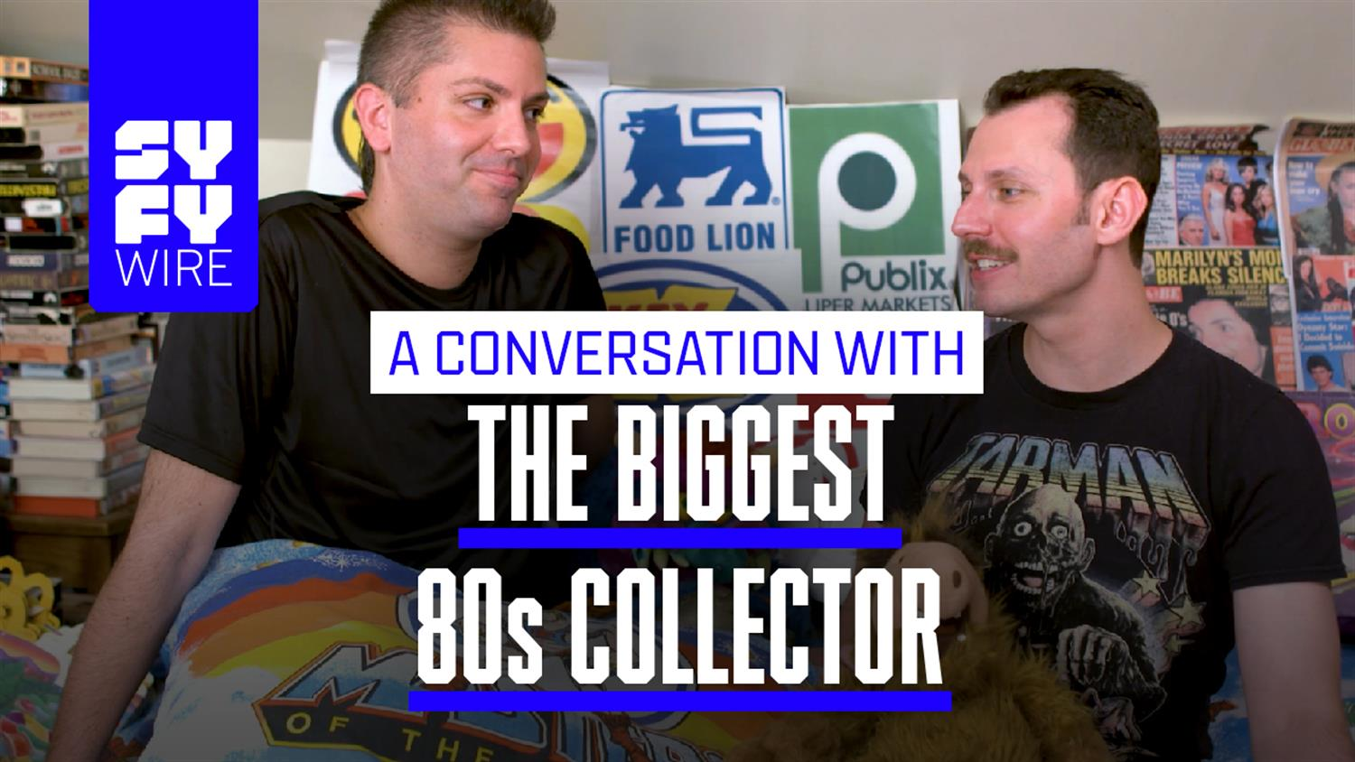 This Guy Owns The World's Biggest '80s Collection
