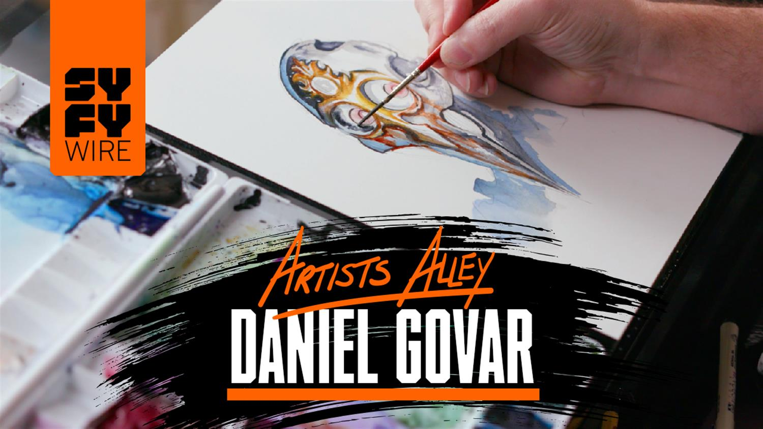 Watch Daniel Govar Paint an Android