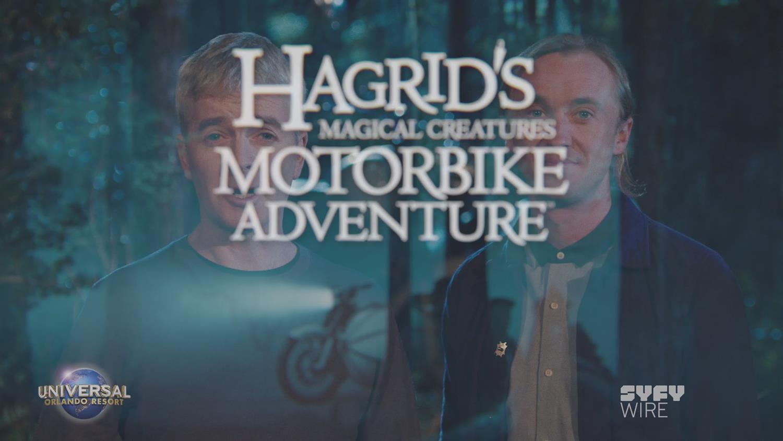 Big News: Hagrid's Magical Creature Motorbike Adventure Is Coming!