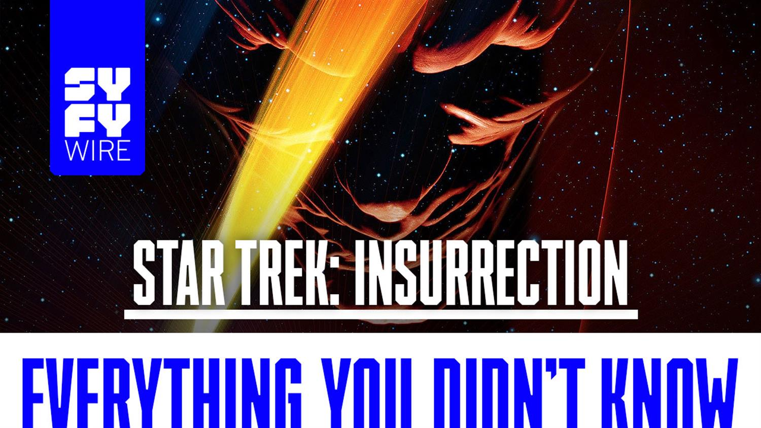 Star Trek: Insurrection Everything You Didn't Know
