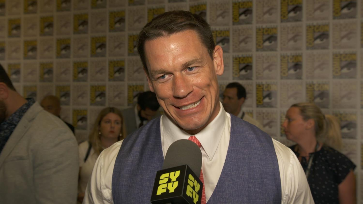 John Cena on Why He Chose Bumblebee | SYFY WIRE