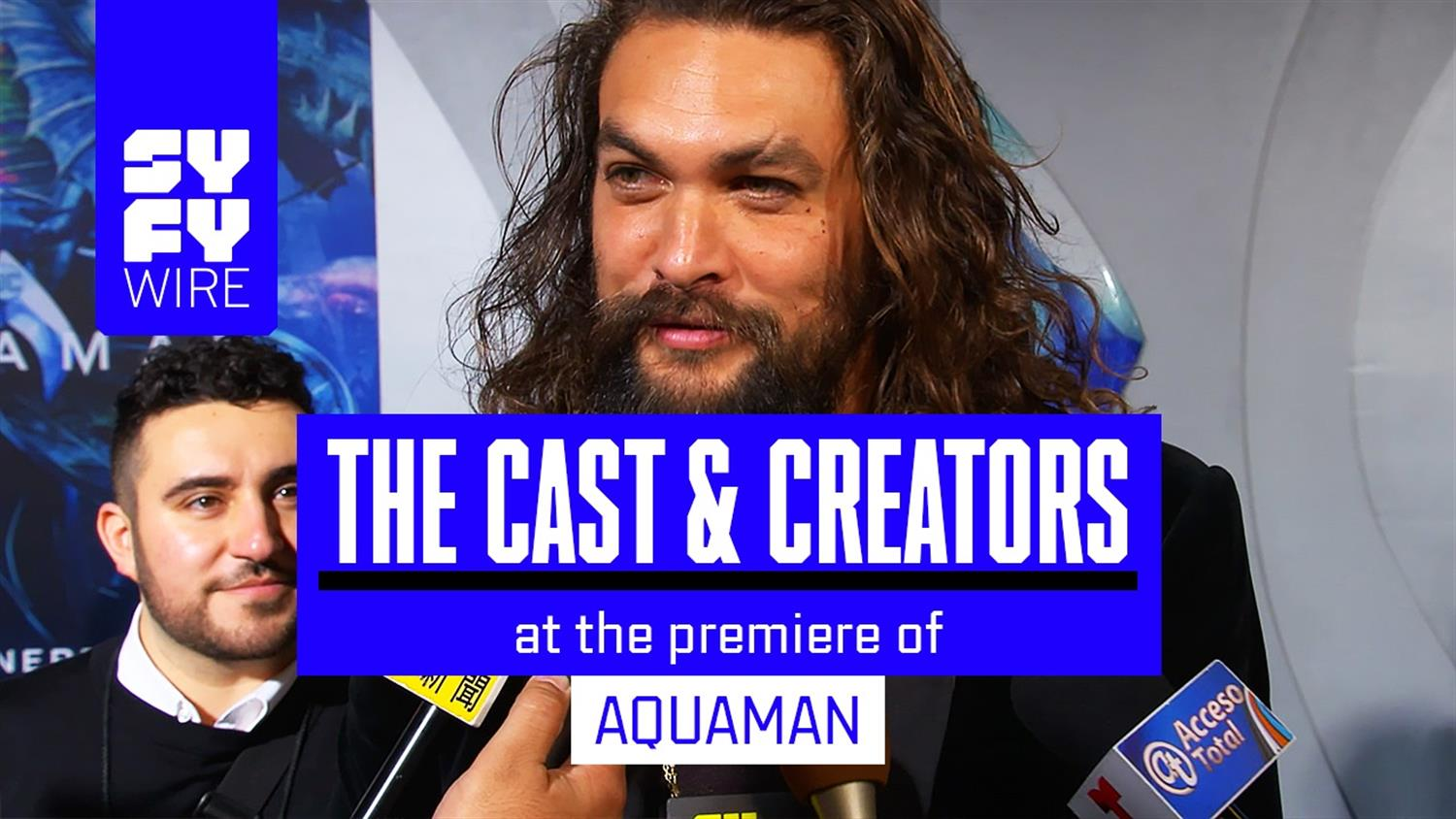 Aquaman Blue Carpet: Black Manta Secrets & More